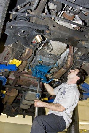 Mechanic Working