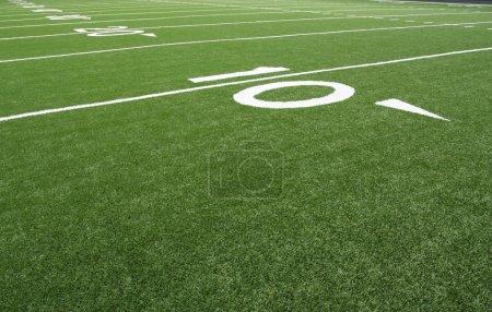 American Football Field Yard Lines