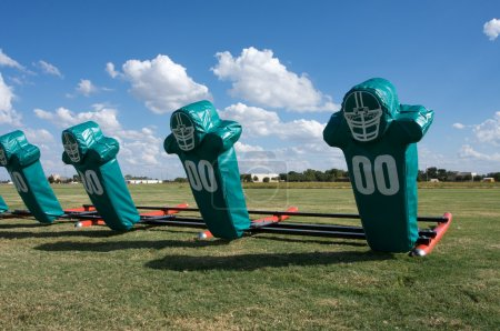 Photo for American Football Practice Hit Pads - Royalty Free Image