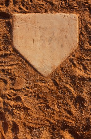 Baseball Field Home Plate