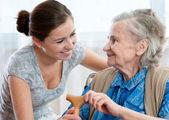 Nursing Dame zu Hause