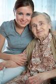Idősek otthonában