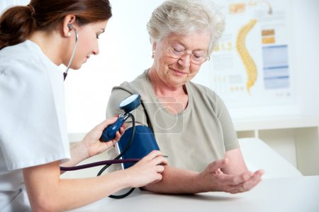 Photo for Measuring blood pressure - Royalty Free Image