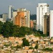 Picture of a favela in the Morumbi neighborhood in...