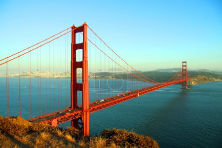 Photo for Golden gate bridge seen during the afternoon - Royalty Free Image