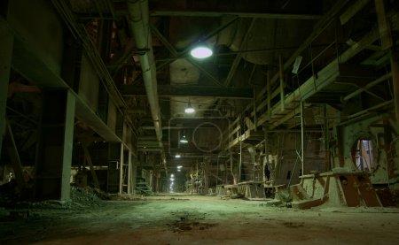 Photo pour Ancienne usine désaffectée - image libre de droit