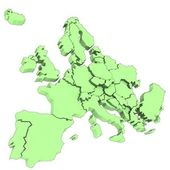 Europe statistical map