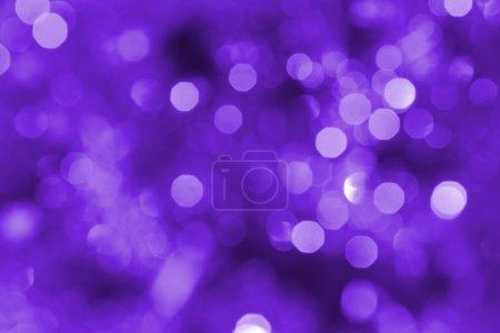 Photo pour Violet Noël lumières fond - image libre de droit