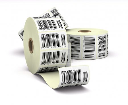 Barcodes stickers