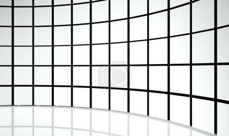 Photo pour Carrés de conception abstraits 3d - image libre de droit