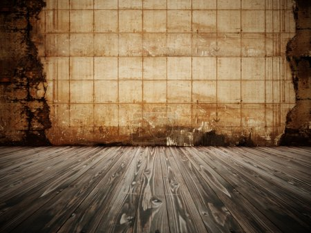 Brown abstract background dirty wall style