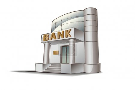 Bank vector illustration