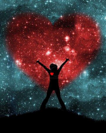 Photo pour La Saint Valentin - image libre de droit