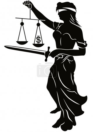 Illustration for Law and Justice - Royalty Free Image