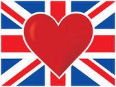 Heart British Flag