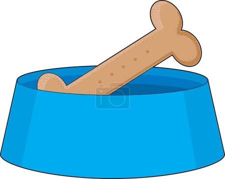 Dog Bone in Bowl