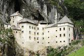 Hrad predjama ve Slovinsku