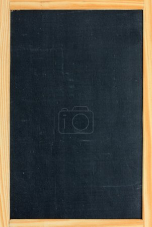 Blank chalkboard with copy space