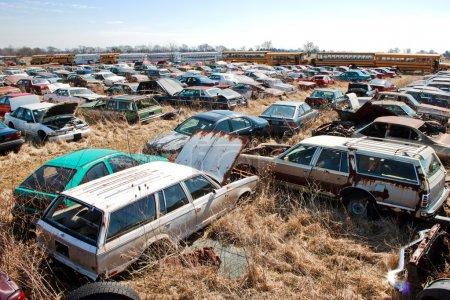 Junk Yard Station Wagons
