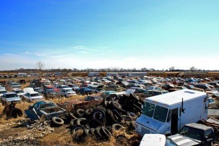 Junk Yard Tires