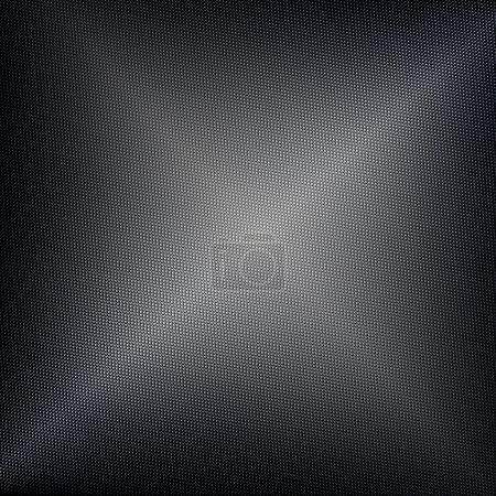 Seamless textured metal or classic carbon fiber