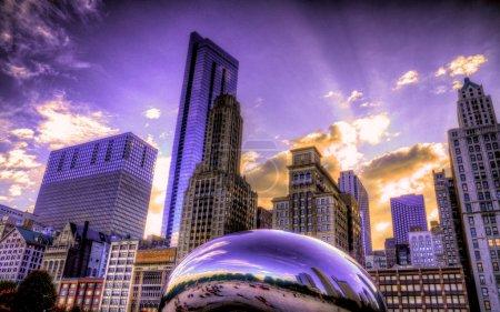 Photo pour Le parc Bean & Millenium - image libre de droit