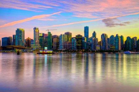 Photo pour Couleurs de Vancouver - image libre de droit
