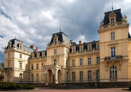 Potocki palace in Lviv, Ukraine