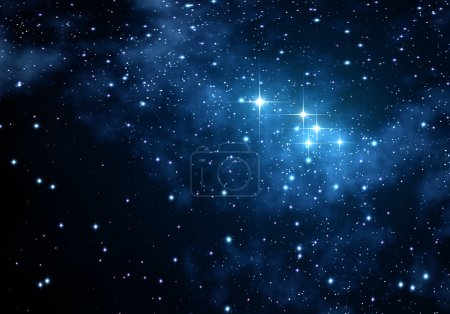 Photo for Space texture with many stars for many projects - Royalty Free Image