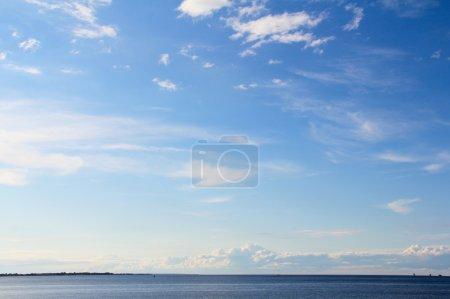 Horizon over water