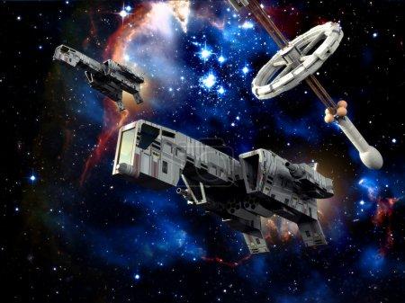Spaceships at war