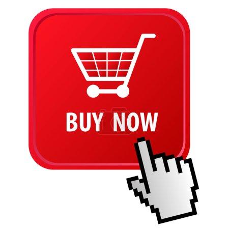 Illustration pour Commerce électronique - image libre de droit