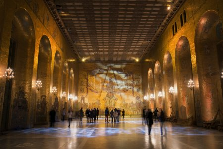 Golden Hall of Stockholm City hall