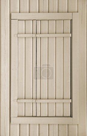 Photo pour Porte en bois - image libre de droit