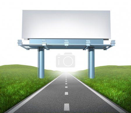 Highway billboard