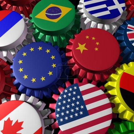 globales Finanzwesen und Welthandel