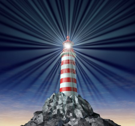 Solutions with a beaming Lighthouse symbol