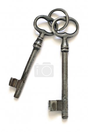 Old keys on an old key ring