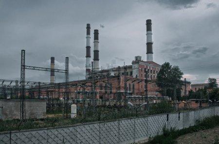 Horrible power plant