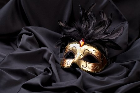 Maske venedig kostüm party weihnachten sylvester karneval seide