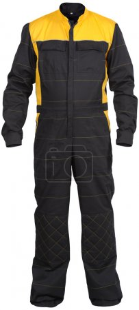 Black mechanic's jumpsuit