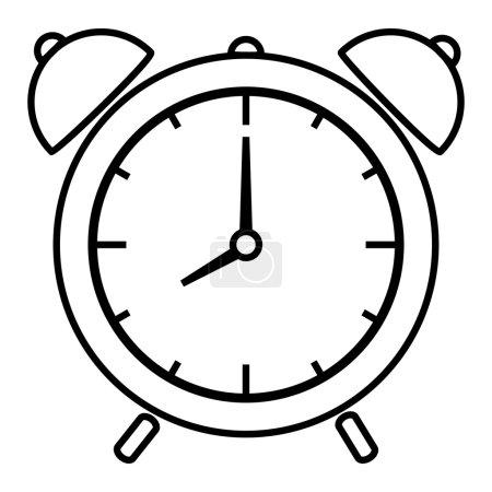 Illustration pour Illustration vectorielle de réveil - image libre de droit