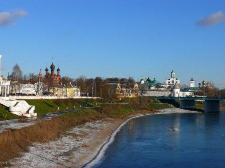 Photo pour Cette photo a été prise en Russie dans le Yaroslavl - image libre de droit