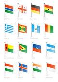 Flag icon set (part 5)
