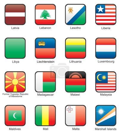 Flag icon set part 7