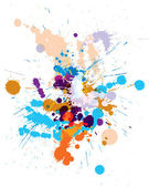 Colored blots