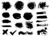 Dark blots