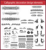 Kaligrafické dekorační prvky