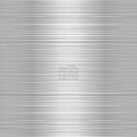 Shiny Metallic Steel Plate