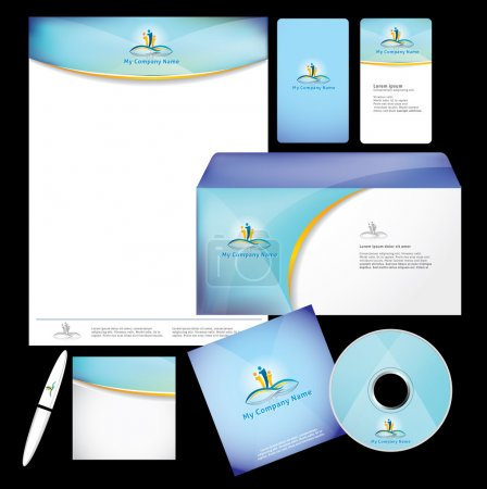 Business style template